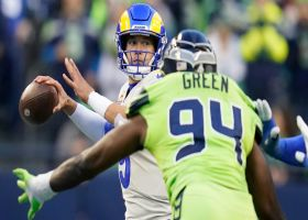 Stafford beats Seahawks' blitz with 20-yard laser to Woods