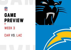 Panthers vs. Chargers preview | Week 3
