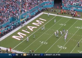 Preston Williams gets behind Jamal Adams for 12-yard TD grab