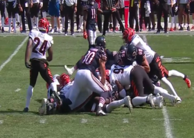 Bengals stop Justin Fields sneak on fourth-and-one