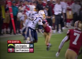 Can't-Miss Play: Adderley's first Bolts INT dazzles the eye