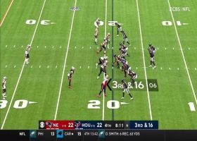 Brandin Cooks somehow catches pass amid swarm of Pats
