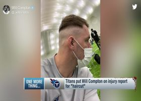 Titans social media team adds Will Compton to the injury report for his haircut
