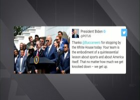 President Biden, Vice President Harris thank Bucs for White House visit on Twitter