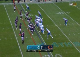 Skrine stonewalls Agnew on fourth-and-1 for early turnover on downs
