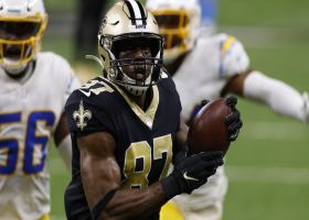 Drew Brees climbs pocket for 41-yard TD strike to Jared Cook