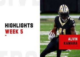 Alvin Kamara's best plays from 119-yard night | Week 5