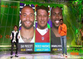Lincoln Loud announces Dak Prescott as MVP from Week 4 | 'NFL Slimetime'