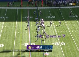 Vikings' OL paves the way for Cook's speedy 16-yard run