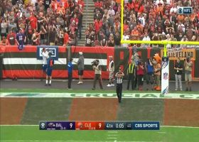 Joseph misses what could've been a game-winning FG