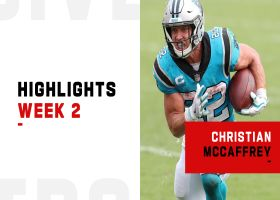 Christian McCaffrey's game-changing plays from 2-TD day | Week 2