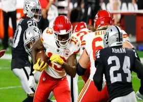 Travis Kelce takes direct snap, tosses for odd first down