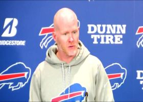 Buffalo Bills head coach Sean McDermott details tight end Tyler Kroft's recovery timeline after broken foot