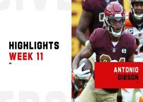 Antonio Gibson's best plays from 104-yard game | Week 11