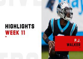 P.J. Walker's best plays in NFL starting debut | Week 11