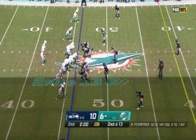 Fitzpatrick dissects zone coverage with 21-yard strike to DeVante Parker