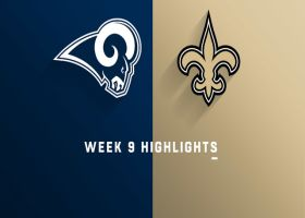 Rams vs. Saints highlights | Week 9