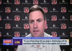 Zac Taylor on Chase-Burrow LSU connection: It's something you 'weigh in'