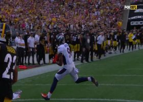 Bridgewater finds Hinton wide open for TD on fourth down