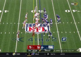 Evan Engram keeps Giants drive alive on 4th-down
