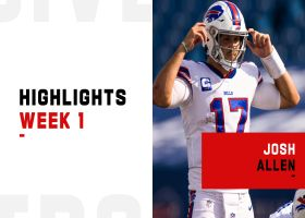 Josh Allen's best plays from 3-TD game | Week 1