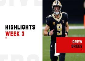 Drew Brees' best throws vs. Packers   Week 3