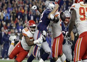 Chiefs come up with HUGE strip-sack on Brady