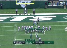Sergio Castillo's first career NFL field goal is 29-yarder