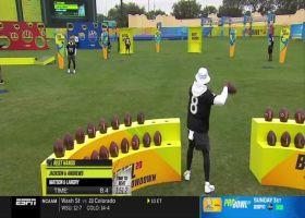 Lamar Jackson, Mark Andrews collab for 'Best Hands' challenge | 2020 Pro Bowl Skills Showdown