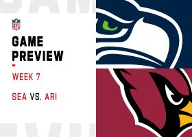 Seahawks vs. Cardinals preview | Week 7