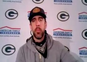 Aaron Rodgers reacts to Packers' win in New Orleans, 3-0 start