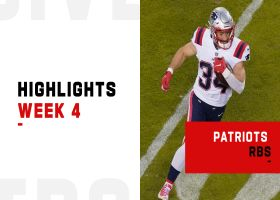 Best plays from Patriots RBs vs. Chiefs | Week 4