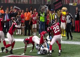 Falcons knock ball away in end zone to prevent game-tying TD