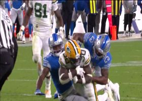 Jamaal Williams weaves between defenders on powerful 45-yard run