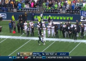 Seahawks fail to convert fourth-and-short long ball to Malik Turner