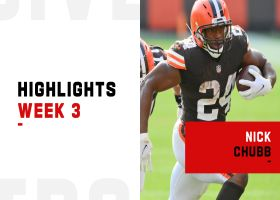 Nick Chubb's best runs from 2-TD game | Week 3