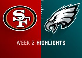 49ers vs. Eagles highlights | Week 2