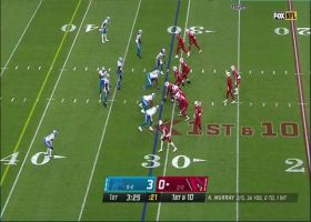 Kyler Murray finds wide-open Andy Isabella for 26-yard gain