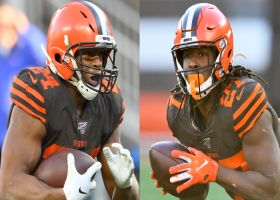 Chadiha: Browns believe there are plenty of touches for Hunt, Chubb in backfield
