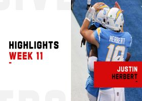 Justin Herbert's best throws from 3-TD game | Week 11