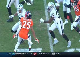 Jalen Richard explodes for speedy 33-yard catch and run