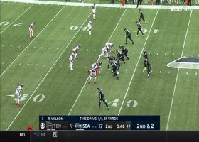 Alex Collins' first carry of '21 goes for explosive 25-yard gain