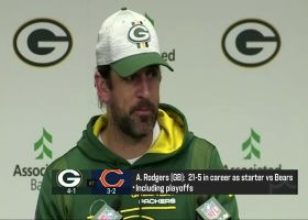 Aaron Rodgers asked to name Bears QBs of the last decade