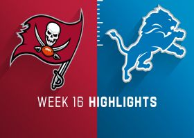 Buccaneers vs. Lions highlights | Week 16