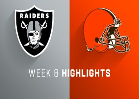 Raiders vs. Browns highlights | Week 8