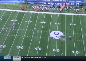 Mo Alie-Cox gets wide open for 45-yard catch-and-run