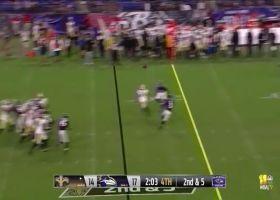 Juwan Johnson is tackle-breaking machine on 38-yard catch and run