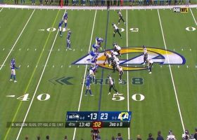 Rams recover Wilson's mishandled snap for key turnover