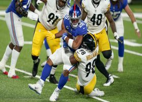 Steelers engulf Barkley in the backfield for their NINTH TFL