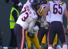 Trubisky tosses TD to Miller for second-straight game